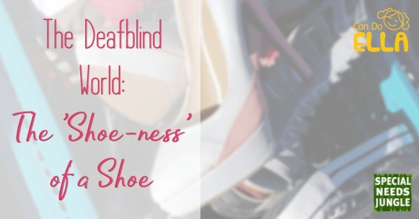 The Deafblind world: The 'Shoeness' of a Shoe by Elly Chapple