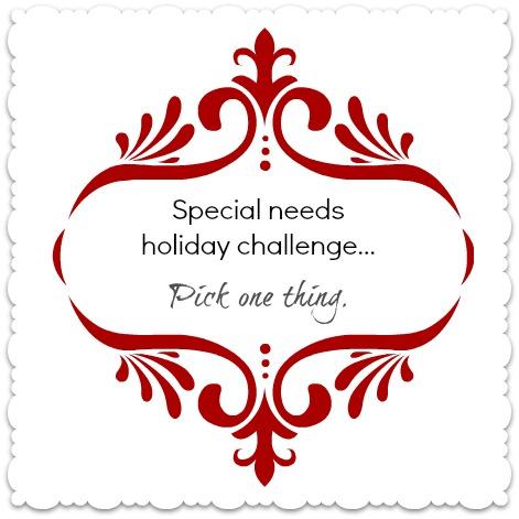 special needs challenge