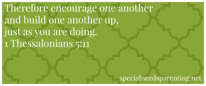 encourage verse