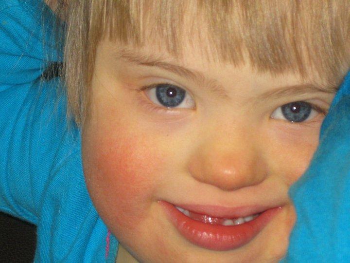 Evie blue eyes