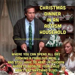 Christmas vacation autism pic