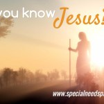 Do you know Jesus? He's the Answer.