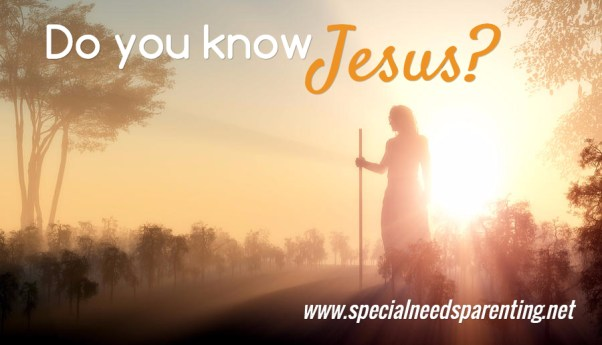 Do you know Jesus?