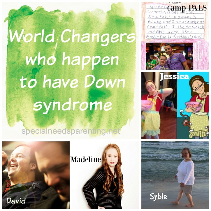 Down syndrome awareness month is almost over, but we didn't want to miss the opportunity to introduce you to these world changers who happen to have Down syndrome
