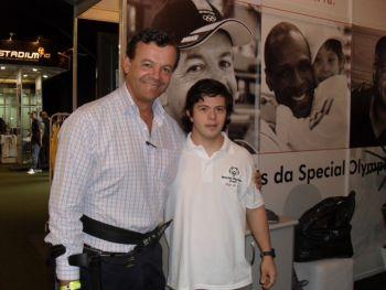 Lars Grael, embaixador da Special Olympics Brasil