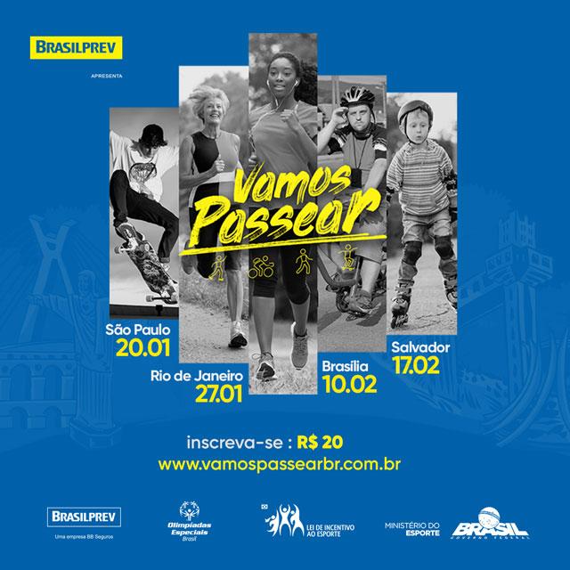 Evento promove passeio como prática de bem-estar pelo Brasil