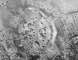 Aerial View Of Merville Battery