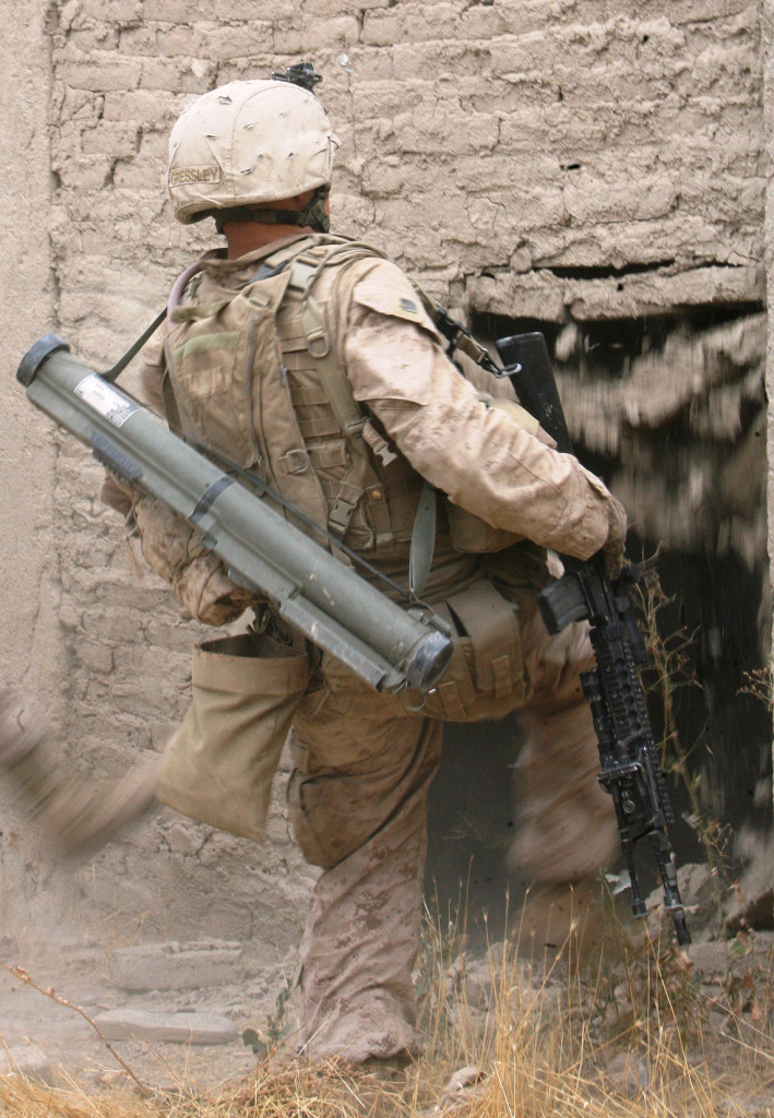 Marines clear Taliban stronghold during Operation Cobra's Anger