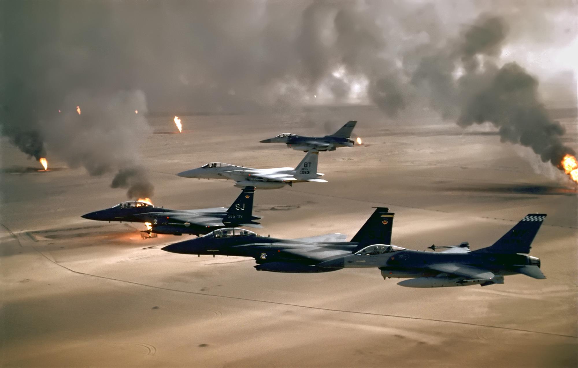 Risultati immagini per first gulf war
