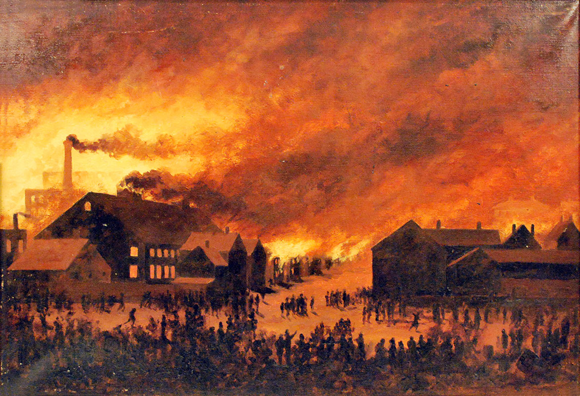 A Place in the History of Great Fires - The Night Portland Burned