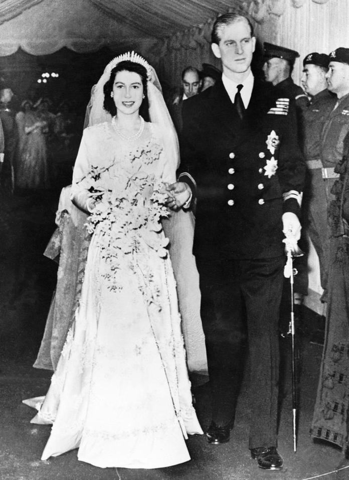 Wedding Of Princess Elizabeth And The Duke Of Edinburgh In 1947