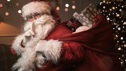 Magia lui Moș Crăciun