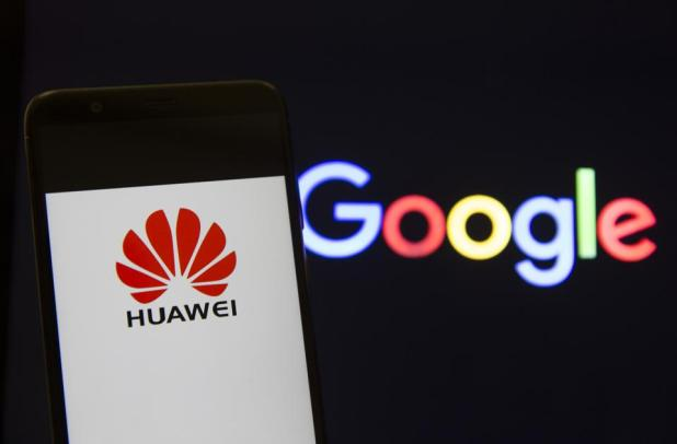 Image result for huawei and google