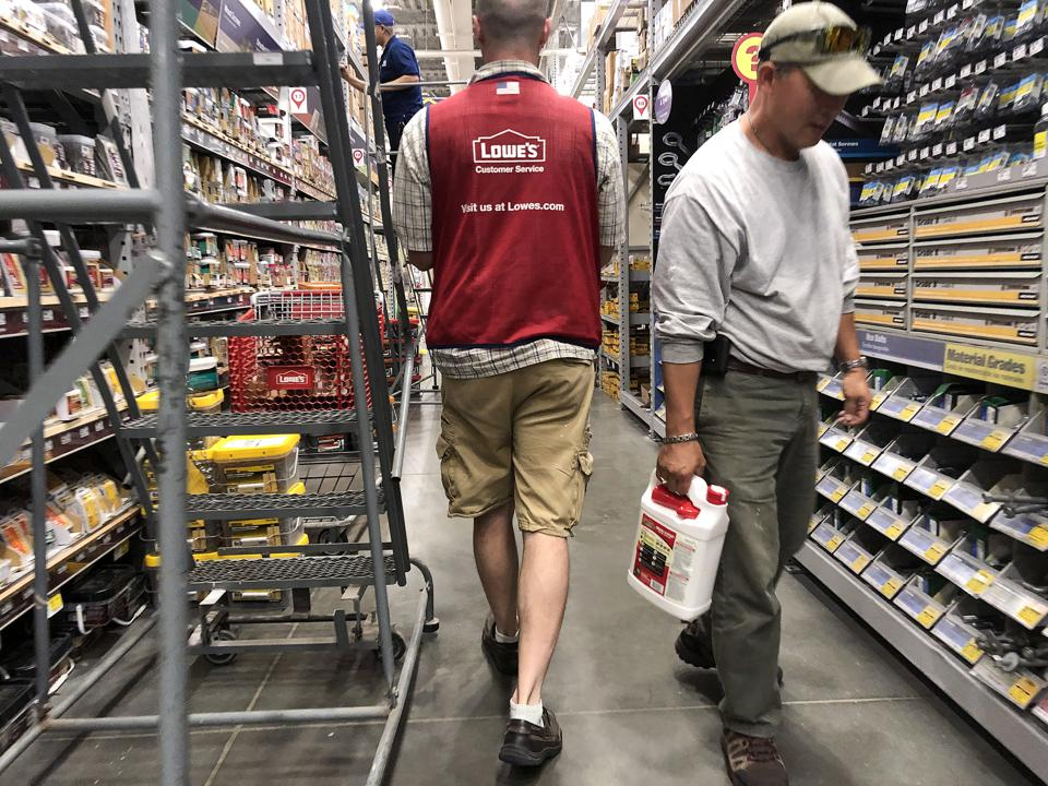 Home Improvement Retailer Lowe's To Lay Off Thousands Of Workers