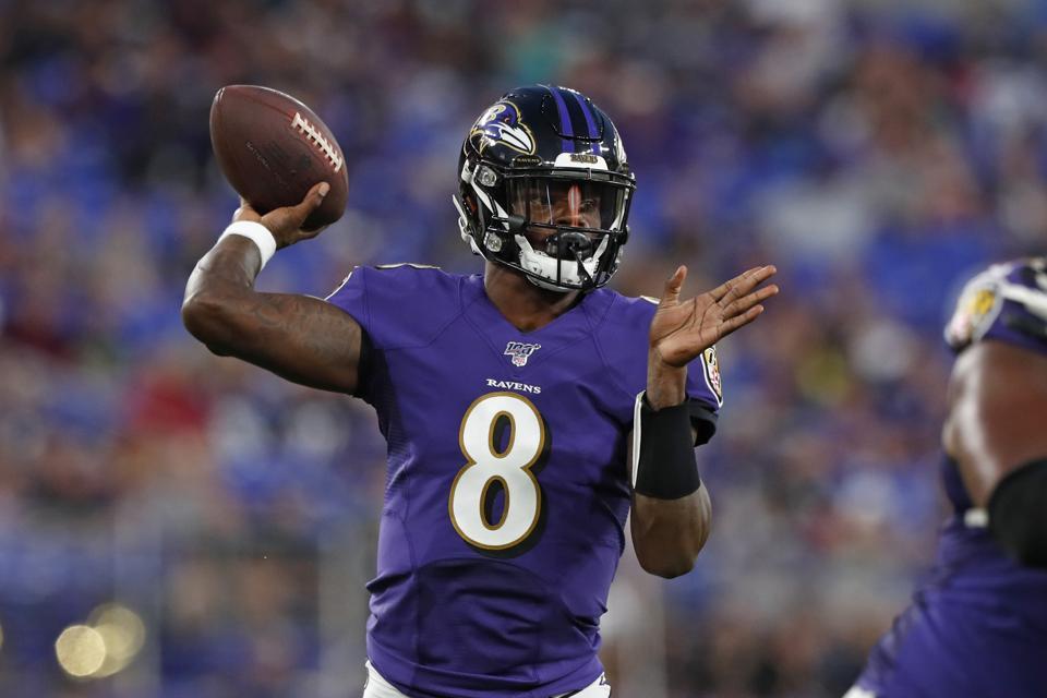 NFL Football Lamar Jackson