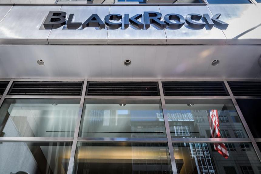 BlackRock offices in New York City...