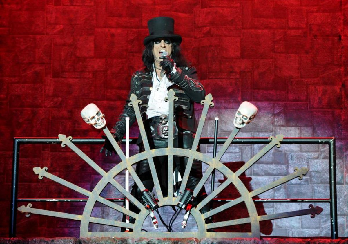 Alice Cooper Performs At Manchester Arena
