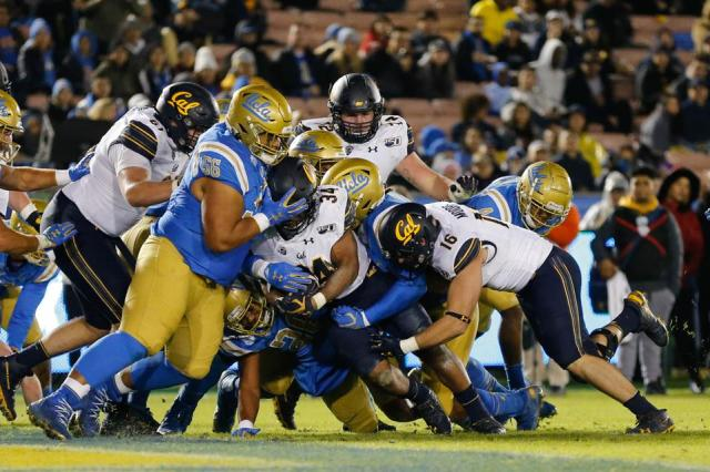 COLLEGE FOOTBALL: NOV 30 Cal at UCLA