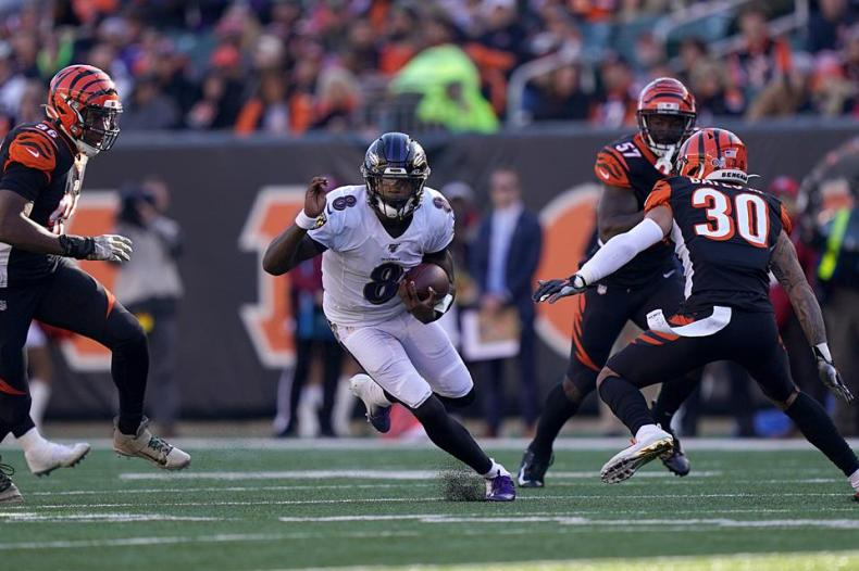 Lamar Jackson Turns In Another Perfect Game As Baltimore Ravens ...