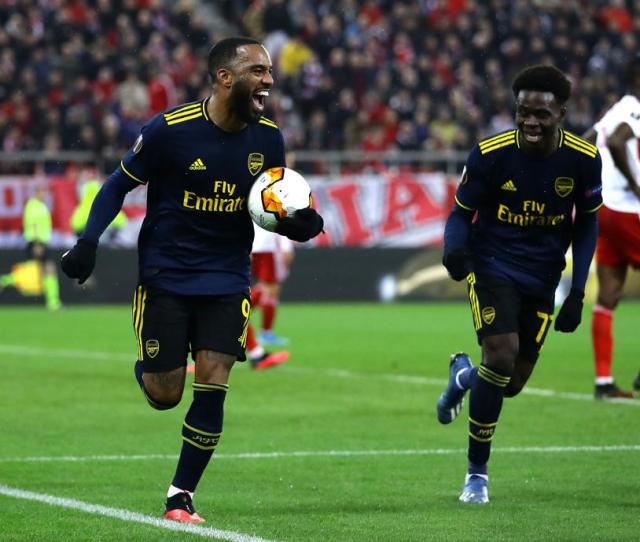 Arsenal Vs Olympiacos Team News And Projected Lineups