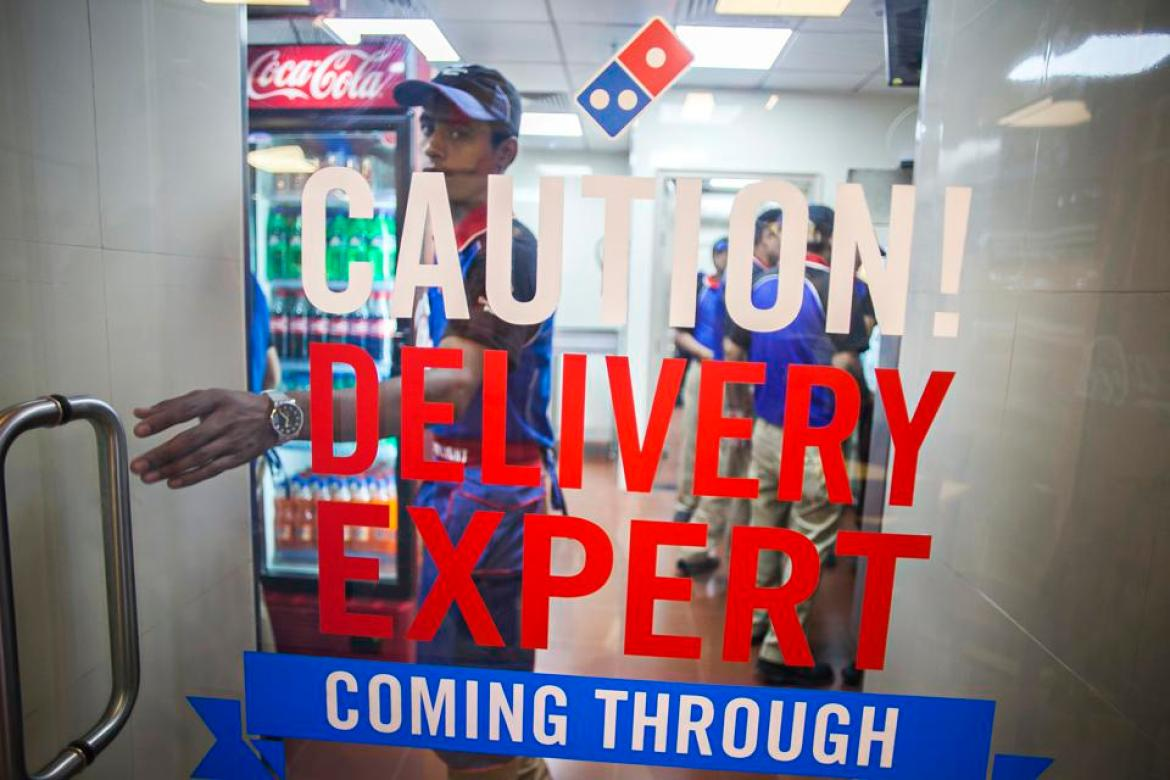 Opening Of Domino's Pizza 600th Store In India