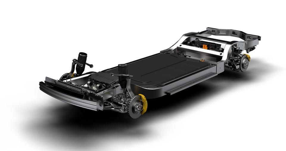 Heart of the deal: Rivian's skateboard platform is at the center of this deal.