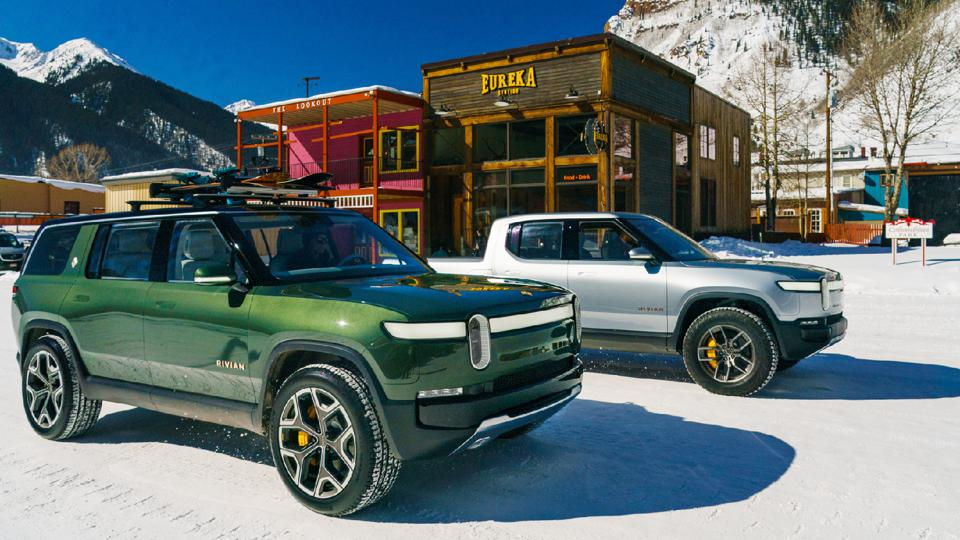 The Players: The R1S SUV and R1T pickup are at the center of Rivian's success--and they haven't even been produced yet.
