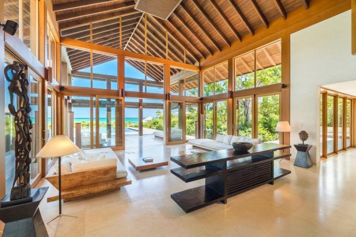 Point House en Parrot Cay en Turks y Caicos