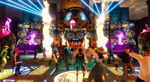 Sansar Monstercat Linden Labs Second Life VR virtual reality music event concert