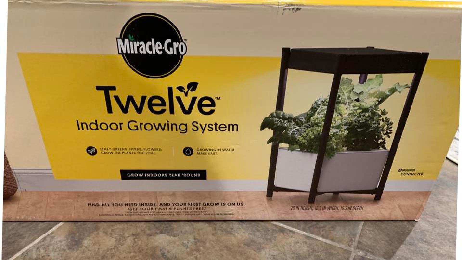 Miracle Gro Twelve Boxed