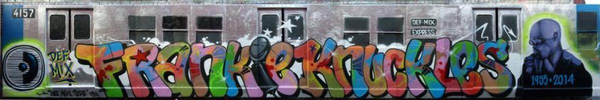 Subway Car with Frankie Knuckles dedication