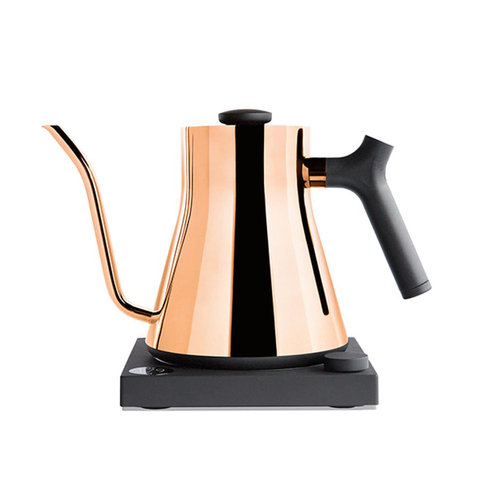 The Stylish Polished Copper Stagg Kettle by Fellow