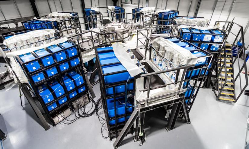 First Light Fusion's Machine 3 in their Oxford-based laboratory