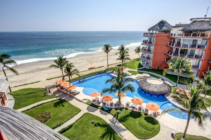 Vivo's beachfront condos have stunning views.