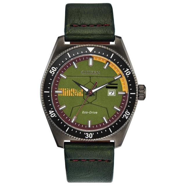 Citizen Star Wars Boba Fett  Limited Edition Eco-Drive watch