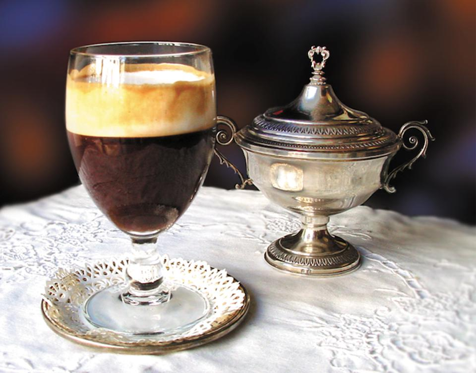 he bicerin at Caffè Al Bicerin, which dates from 1763.