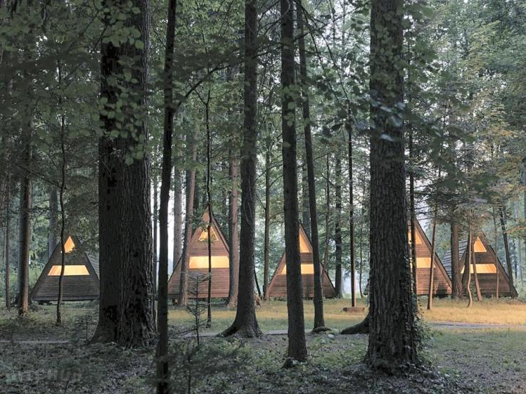 Forest Camping Slovénie