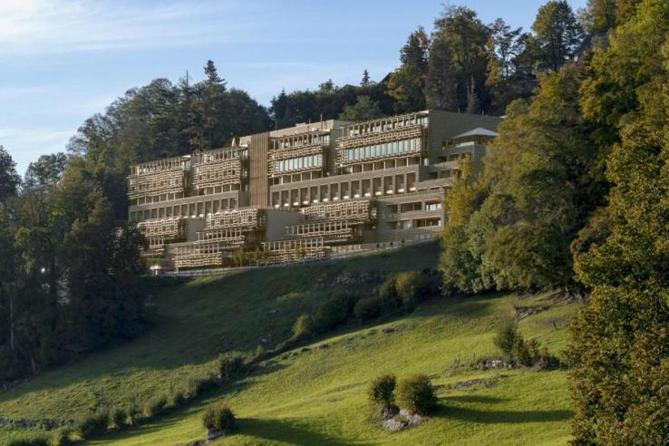 Voyage de résolution au Switzerland Waldhotel