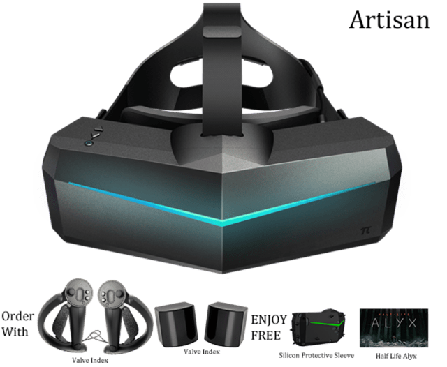 Pimax Artisan + Index Knuckles and Base Stations
