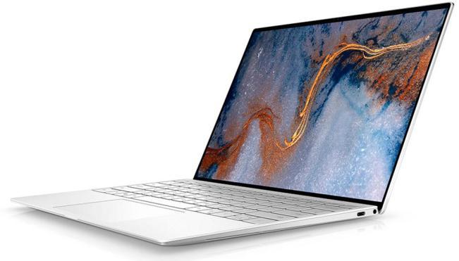 2020 dell xps 13 laptop - white spun glass