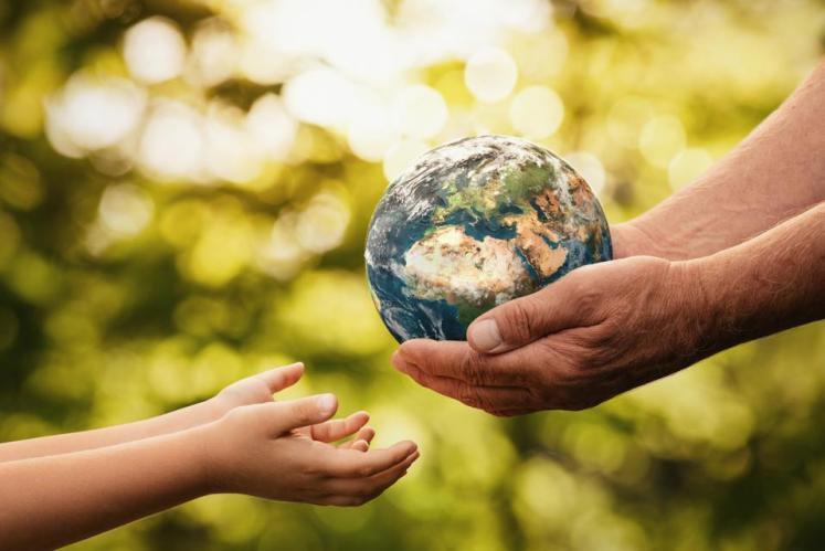 التاثير المتبادل بين الانسان والبيئة