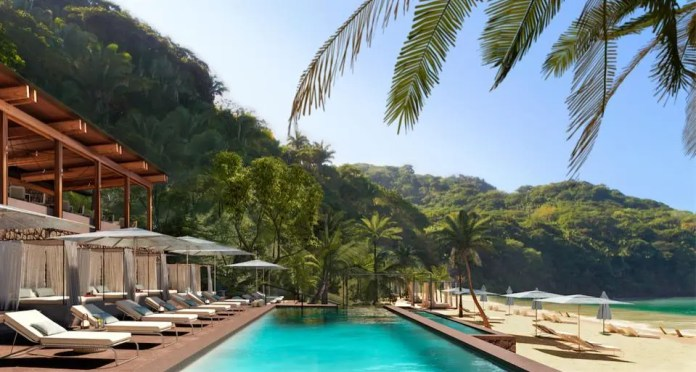 Luxurious oceanfront hotels, branded residences, and clifftop villas