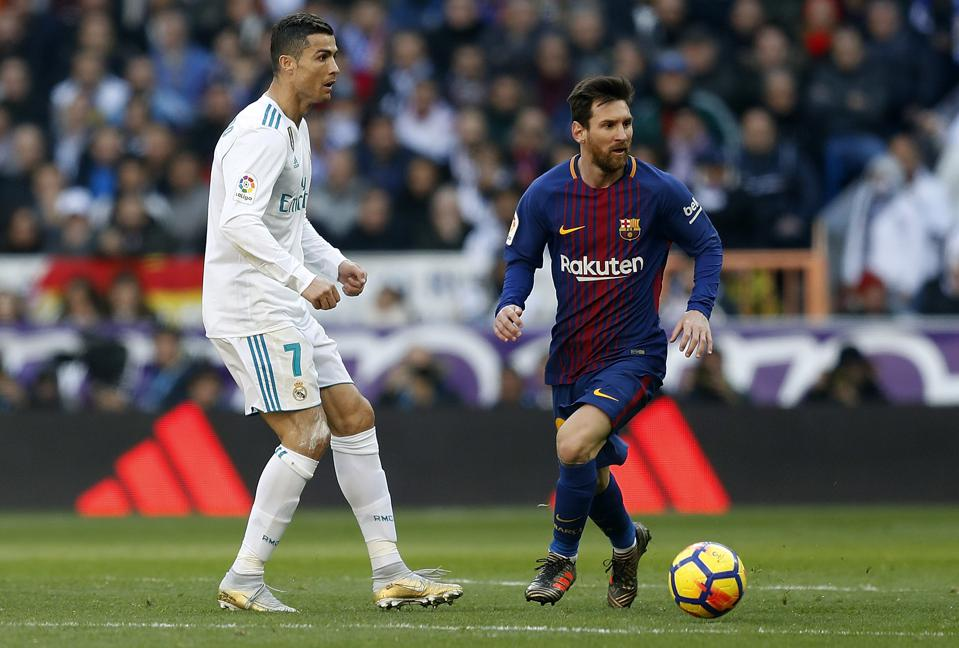 Lionel Messi And Ronaldo Locked In Battle To Become World's All-Time  Leading Scorer