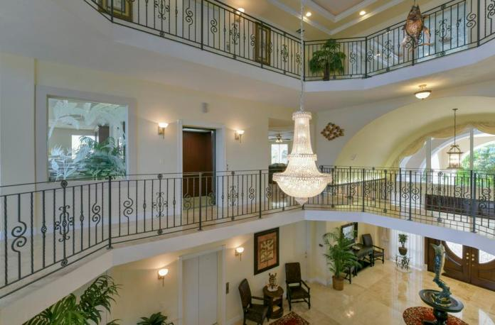 Interior of Florida estate