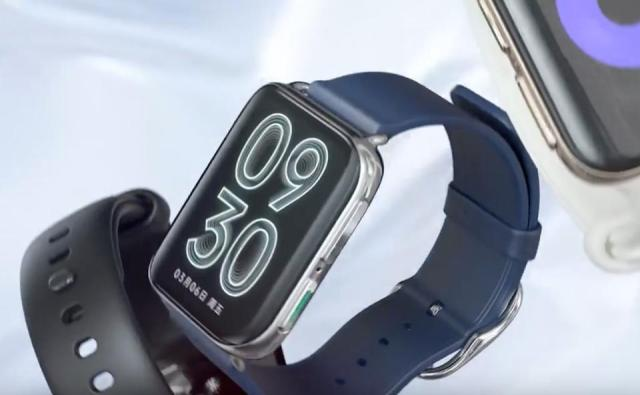 Side buttons on the Oppo Watch