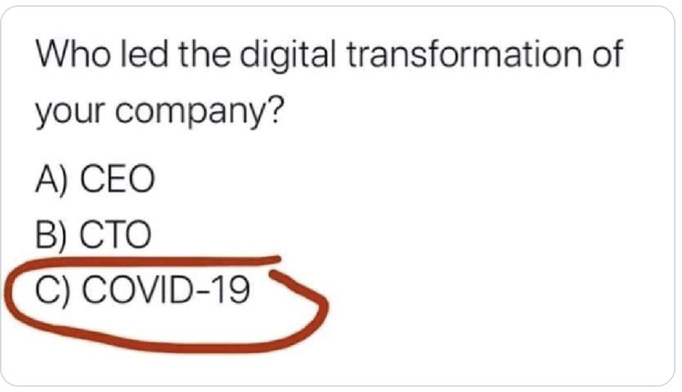 COVID-19 and Digital Transformation