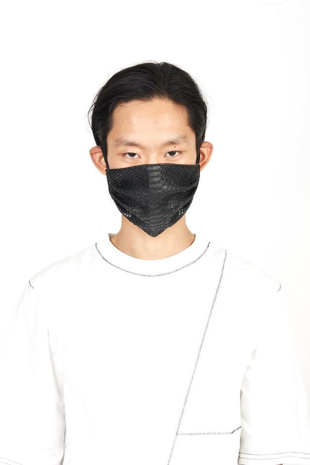 AKings vegan python mask