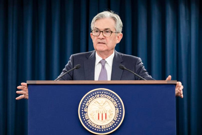 Federal Reserve Chair Jerome Powell Announces Unlimited Bond Purchases.