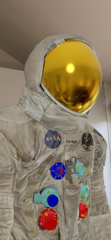 The Neil Armstrong spacesuit, digitized by the Smithsonian Digitization Program.