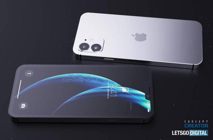 iPhone 12 render (Let's Go Digital / Concept Creator)